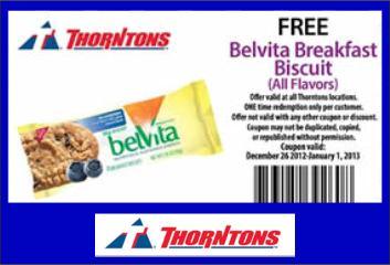 Belvita Breakfast Biscuit at Thorntons [FACEBOOK]