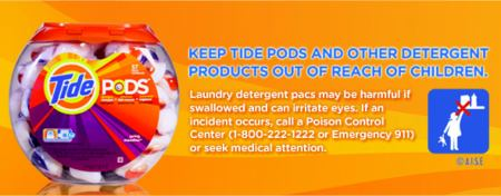 Tide Pod Container Stickers