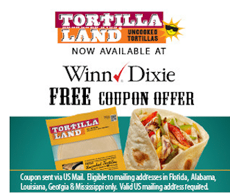 TortillaLand Tortillas at Winn-Dixie
