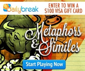 Get A FREE $100 Visa Gift Card, Take The Metaphors Challenge!