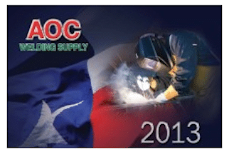 AOC Welding Supply Calendar