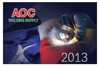 AOC Welding Supply Calendar