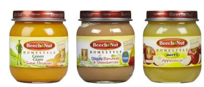 Beech-Nut Feeding Guide (Includes Coupon for 4 FREE Beech-Nut Stage 2 Jars!)