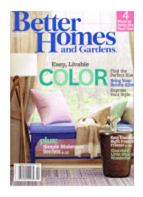 Subscription to Better Homes and Gardens