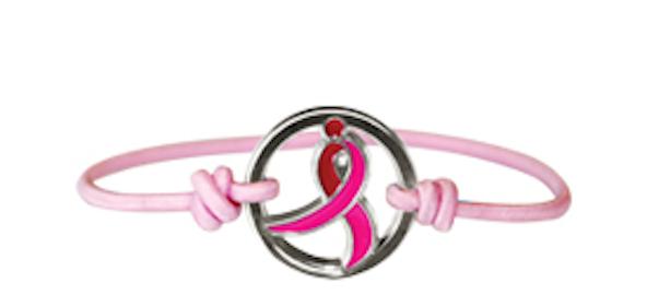 Susan G. Komen Running Ribbon Bracelet