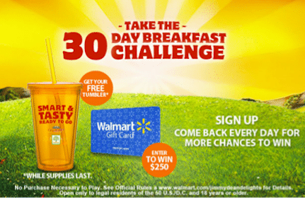 *HOT* Contest: 1st 6,600 Get FREE Tumbler (+ Enter to Win $250 Walmart Gift Cards + More!)