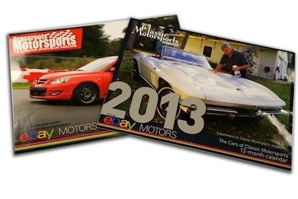 2013 ebay Motors Calendar