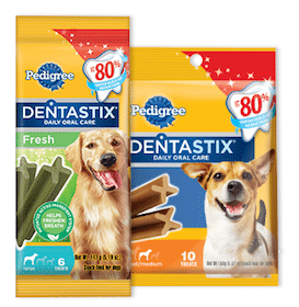 Sample of Pedigree Dentastix Treats