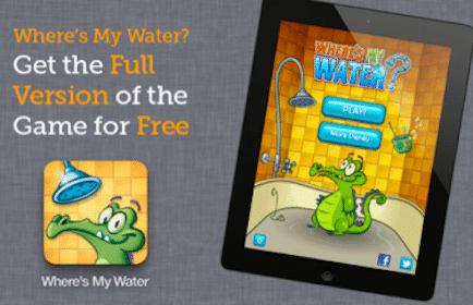 """Disney """"Where's My Water?"""" Game Download (iPhone, iPad and iPod Touch)"""