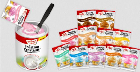 Duncan Hines Frosting Creations Flavor Packets at Target and Walmart