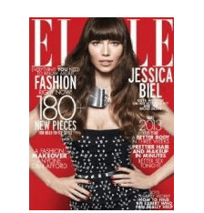 Subscription to Elle Magazine