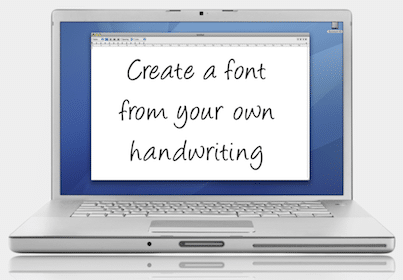 Turn Your Handwriting into a Font – Today (1/23) Only!