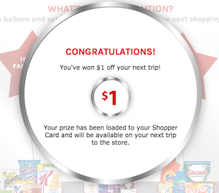 Win Up to $15 Off Your Next Kroger Grocery Purchase