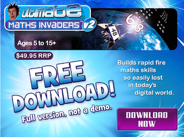 Math Invaders Download ($49.95 Value!)