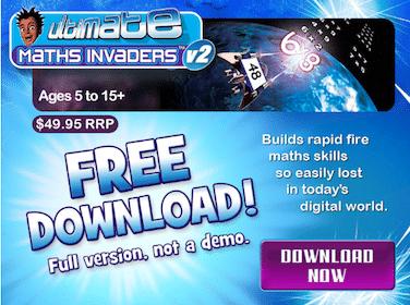 Math Invaders Download ($49.95 Value!)