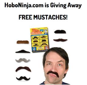 Self-Adhesive Mustache