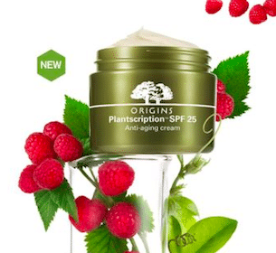 Sample of Origins Plantscription SPF 25 Anti-aging Face Cream