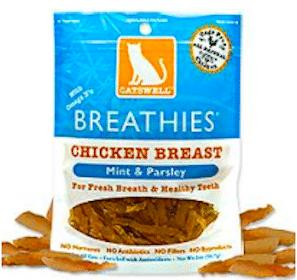 Bag of Catswell Treats at PetSmart