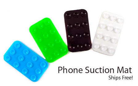 Phone Suction Mat ($2.99 Value!)