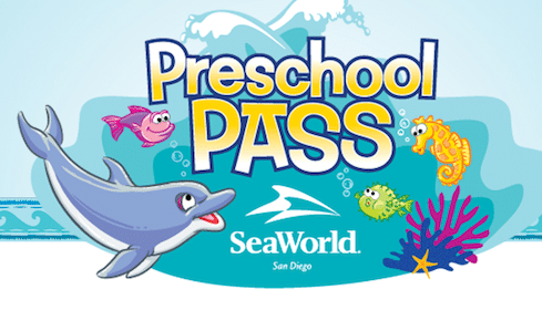 Admission to San Diego SeaWorld for Kids Ages 3-5
