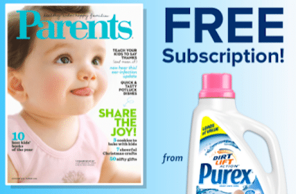 Win a Year Subscription to Parents Magazine (15,000 Winners!)