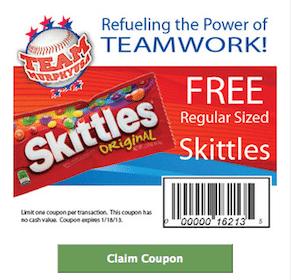 Skittles at Murphy USA Stores