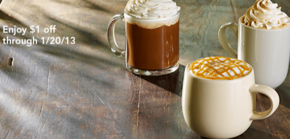 Starbucks Coupon: Save $1 Off ANY Espresso Beverage
