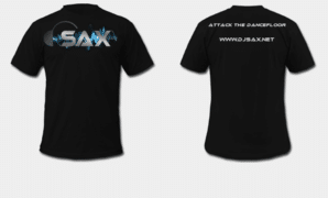 Dj Sax T-Shirt (1st 15,000!)