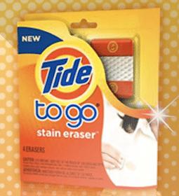 Tide To Go Stain Eraser Sample