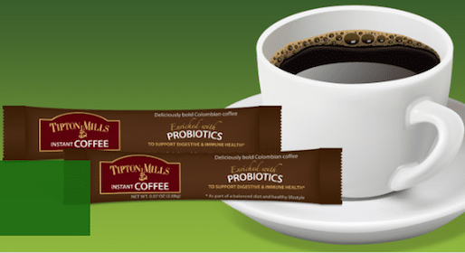 Tipton Mills Probiotic Coffee Sample