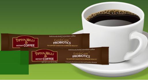 Tipton Mills Probiotic Coffee Sample