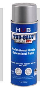 Tru-Galv Spray Paint Sample