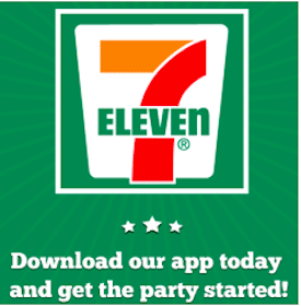 Medium Coffee w/ App Download at 7-Eleven