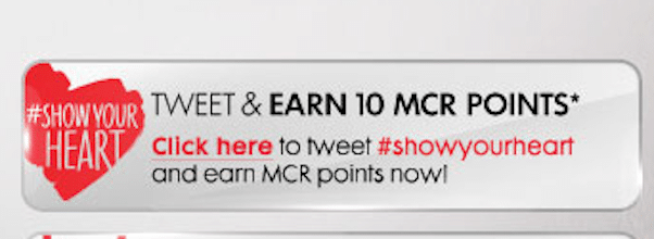 10 Bonus Rewards Points from MyCokeRewards