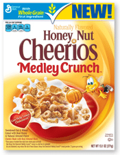 Honey Nut Cheerios Medley Crunch Sample (1st 10,000 Live Better America Members Only)