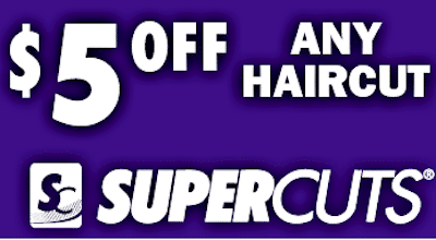 SuperCuts Coupon: $5 Off ANY Haircut (Text Offer)