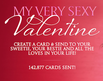 Send a FREE Valentine & Enter to win a $50 Victoria's Secret Gift Card (250 Winners!)