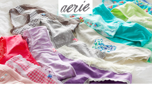 Aerie Text Offer: FREE Pair of Undies In-Store (OR Pay $0.01 Online!)