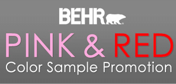 Win a FREE Behr 8 oz Paint Sample (3,500 Winners!)