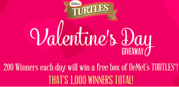 Enter to Win DeMet's Turtles (1,000 Winners!)