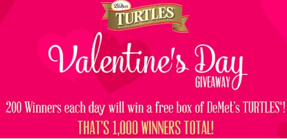 Enter to Win DeMet's Turtles (1,000 Winners!)