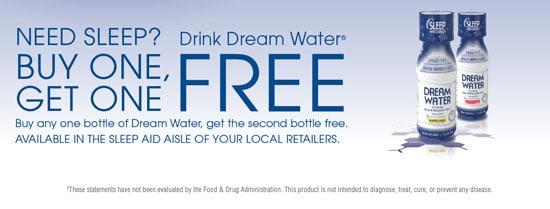 Dream Water® Coupon