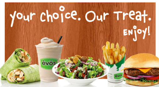 Burger or Wrap at Evos (Select States)