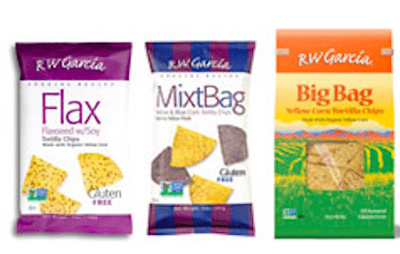 Bag of R.W. Garcia Tortilla Chips (Mailed Coupon)