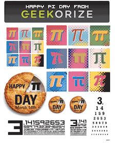 Happy Pi Day Stickers