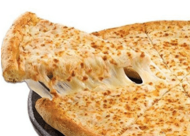 Small Cheese Pizza at Hungry Howies (February 4th-6th)