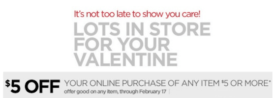 Check Your Email for a $5 off $5 Online Coupon Code from JcPenney