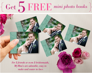 5 Mini Photo Books from MyPublisher (+ $1.39 Shipping)