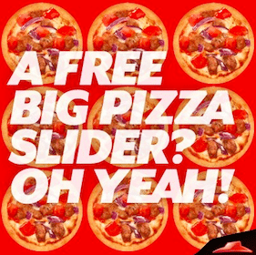 Pizza Sliders at Pizza Hut TODAY (4-7 p.m. EST)