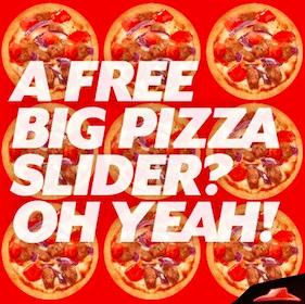 Pizza Sliders at Pizza Hut TODAY (4-7 p.m. EST)